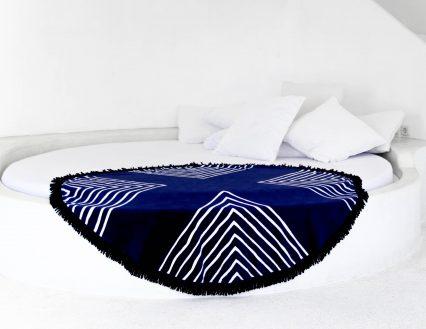 Laguna round beach towel