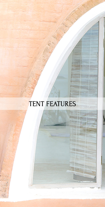 tent features