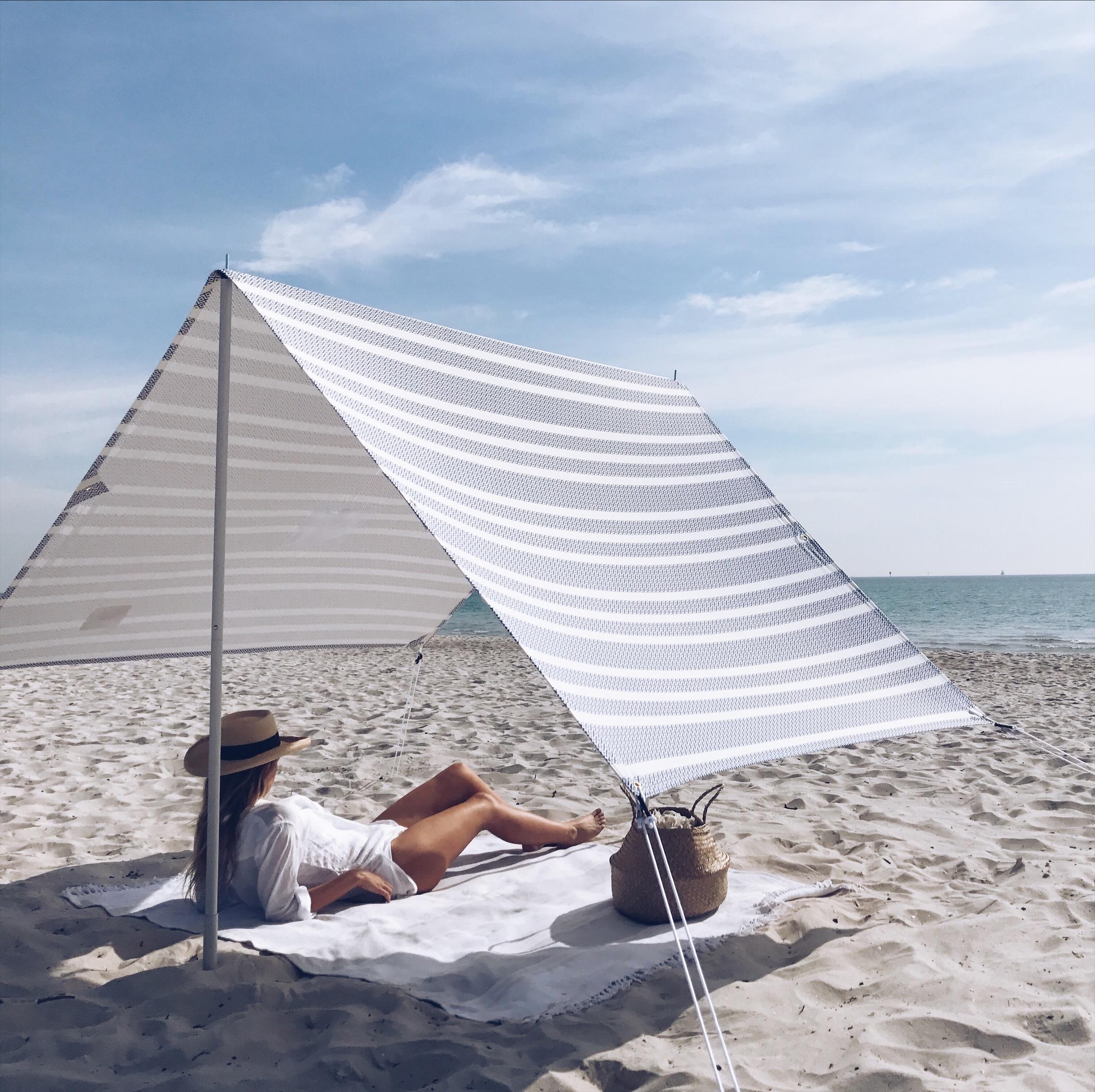 ... tent Best beach shade in Australia ... & Santorini Beach Tent | Lovin Summer | Chase the sun in style